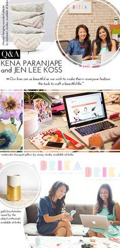 Q&A: BRIKA Founders Kena Paranjape + Jen Lee Koss | theglitterguide.com