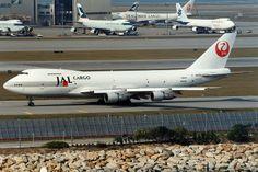 Japan Airlines, Boeing 747-200SF, JA8169, Hong Kong International