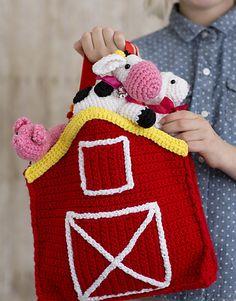 Crochet animals 249598004335254649 - Carry Along Barn Animals Play Set Amigurumi Crochet Patterns Source by hallosc Crochet Game, Crochet Gifts, Crochet For Kids, Free Crochet, Knit Crochet, Ravelry Crochet, Crotchet, Crochet Amigurumi, Crochet Dolls