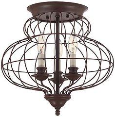 Laila 4 Light Pendant In Rustic Antique Bronze | House of Antique Hardware