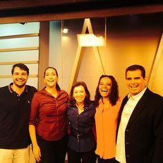 Diego Pose, Maria Beltrão, Andrea Ramal, Flávia Oliveira e DR Luiz Fernando Correa