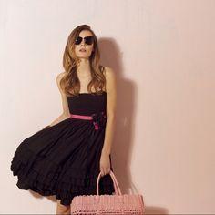 Oky Coky SS12 black dress