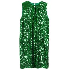 Malene Birger Nuggaz Dress ($350) ❤ liked on Polyvore featuring dresses, vestidos, green, tops, sequin dress, by malene birger, green sequin dress, sequin cocktail dresses et green cocktail dress