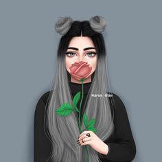 رسمة جديدة ... رايـكم ؟ . . . #marwa_draw #sketchbookpro #mydrawing #drawing #style #draw #artist #sketchbook #sketch #myfollow #nice #anime #deaf #cute #girl #كلنا_رسامين #انمي #رسمتي #مواهب #ارتينيا #رسامين_عرب #تصميمي #تصميم #انمي