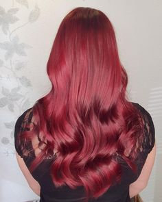 """27 tykkäystä, 1 kommenttia - Sandi Moilanen (@hairmakeup_sandi) Instagramissa: """"🔥❄Cool red ❄🔥"""" Long Hair Styles, Red, Beauty, Instagram, Long Hairstyle, Long Haircuts, Long Hair Cuts, Beauty Illustration, Long Hairstyles"""