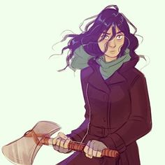 Instagram media by vasira96 - Sam from Magnus Chase and the Gods of Asgard #fanart #digital #drawing