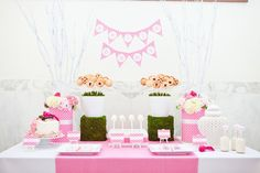 dessert table, party