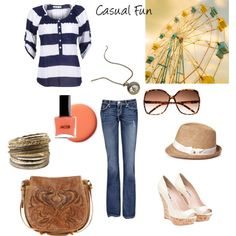 Casual, created by ocshoegal on Polyvore
