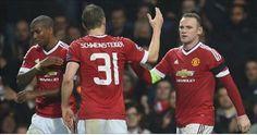 Rooney castiga al CSKA y coloca al Manchester United con pie y medio en octavos - Un tanto de Wayne Rooney a diez minutos para el final castigó este martes a un rácano CSKA Moscú en Old Trafford y dio al United un triunfo vital, ...