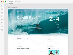 Onshore — Website Design in Adobe Xd