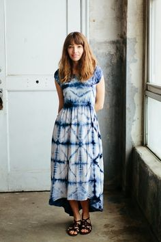 Image Via: A CUP OF JO in the Skyscape Maxi Dress #Anthropologie