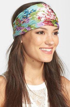 Tasha 'My Pretty Garden' Head Wrap available at #Nordstrom