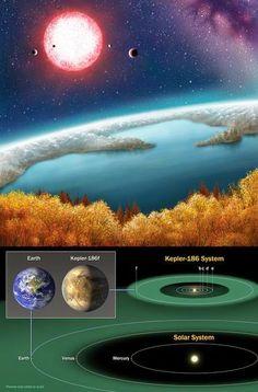 El planeta, designado Kepler-186f, se encuentra a 490 años luz, en la dirección de la constelación del Cisne y, según los responsables del d...