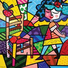 """Summer Chair"" #verão #cadeira #menina #girl #apple"