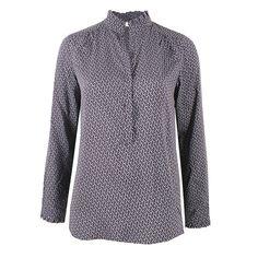 Scotch Wormy Blue von KD Klaus Dilkrath #kd #dilkrath #kd12 #klausdilkrath #outfit #blouse #shirt #wormy #blue #look #office