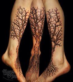 Trees on legs