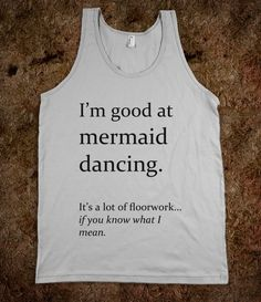 Mermaid Dancing - BA BAM - Skreened T-shirts, Organic Shirts, Hoodies, Kids Tees, Baby One-Pieces and Tote Bags