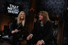 """Lita Ford and David Coverdale on """"That Metal Show"""""""