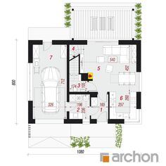 Dom w borówkach (GN) Modern Bedroom, House Plans, Floor Plans, How To Plan, Bedroom Modern, House Floor Plans, Contemporary Bedroom, Modern Bedrooms, Floor Plan Drawing