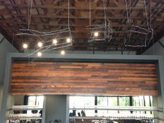 Final install for Argyle winery tasting room in Dundee, OR.