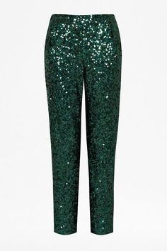 Pin for Later: 31 Pieces That Prove It's Never Too Soon to Shimmer in Sequins French Connection Sequinned Trousers French Connection Sirius sequinned trousers (£140)