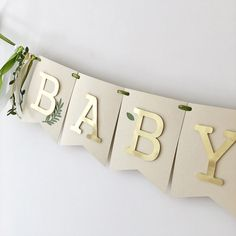 Greenery Banner Green Gold Birthday Decorations Greenery Baby Shower Banner Olive Garland Custom Baby Banner Welcome Little One Sign – babyshower Baby Shower Garland, Baby Shower Backdrop, Boho Baby Shower, Baby Shower Themes, Baby Boy Shower, Baby Shower Gifts, Party Garland, Shower Ideas, Baby Shower Green