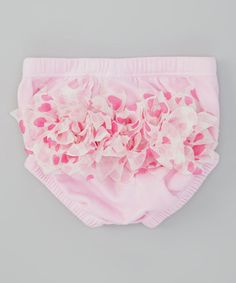 Take a look at this Pink Heartspree Diaper Cover by Voila Fancies on #zulily today!
