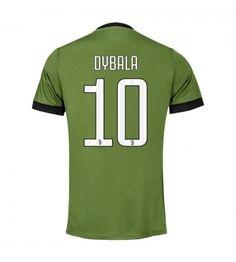 Juventus Paulo Dybala 21 Alternativní Dres 17-18 Krátký Rukáv