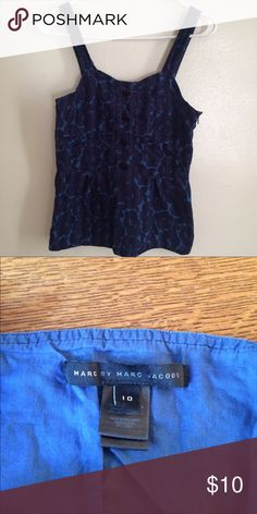 Marc by Marc Jacobs Top Great condition, runs small. I'm a 6 and it fits me Marc by Marc Jacobs Tops Tank Tops