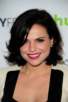 Pinterest. I would cast Lana Parrilla as the Queen of Hearts because she fits well with and often plays the evil, antagonist role.