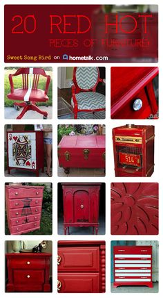 Awesome RED pieces around the house!