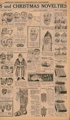 1926 Baltimore Price Reducer catalog  Christmas items page
