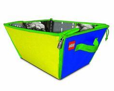 Neat-Oh! A1807XX Boîte de Rangement Lego Zipbin Jaune