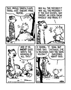 Calvin and Hobbes #freethought
