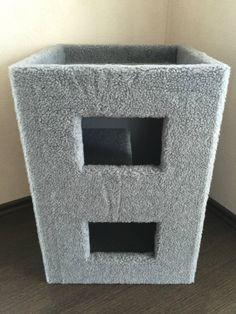 'Lemio – Cube Cat Scratching Roll