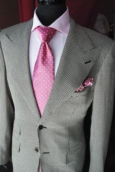 Grey suit with Brown shoes