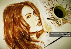 - Coffee Art - Pintura com Café