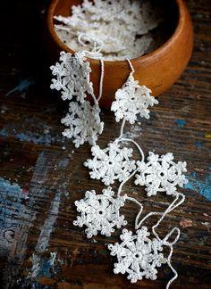 Crochet snowflakes UK