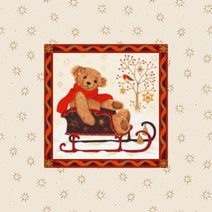 Valerie Greeley - MK444 bear with sleigh.jpg