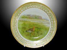 "Royal Copenhagen Flora Danica Dinnerware | Royal Copenhagen. ""Flora Danica"". Hunting plate 10 inches. No. 240A ..."