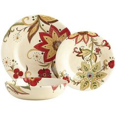 Carynthum Dinnerware...added these to the square ones in my collection