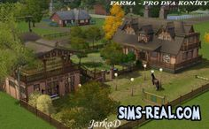 Sims 3 Pets Houses | Farm for The Sims3 Pets by Jarkad