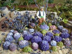 Dollhouse Miniatures, World, Provence, Plants, Christmas, Nativity Sets, Nativity Scenes, Paint Keys, Easy Patterns