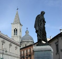 Statue of the Poet Ovid in Sulmona ~  Abruzzo ~ Italy