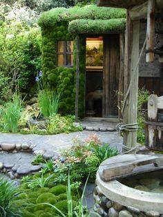 Satoyama Life garden by Kazuyuki Ishihara - chelsea 2012