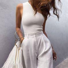 Looks Street Style, Looks Style, Classy Street Style, Chic Summer Style, Casual Street Style Summer, Spring Street Style, Fashion Mode, Look Fashion, Elegant Fashion Style