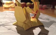 Origami Pikachu (Advanced)
