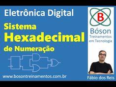 #Eletrônica #Digital - Sistema de Numeração #Hexadecimal (Base 16)