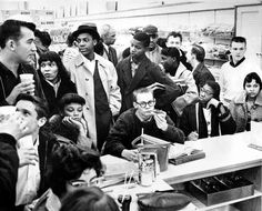 Civil Rights Movement Sit Ins At Lunch Counter