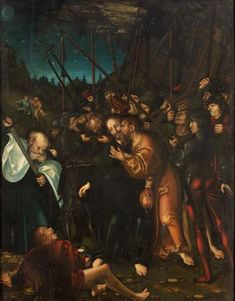 Arrest of Christ - Lucas Cranach the Elder